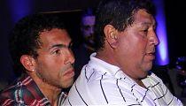Carlos Tevez og Juan Carlos Cabral